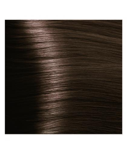 Крем-краска для волос Kapous STUDIO 4.3 золотисто-коричневыйс экстрактом женьшеня и рисовыми протеинами, 100 мл Kapous