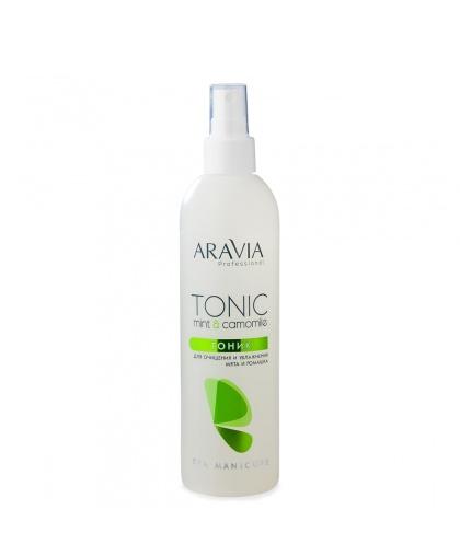 """""""ARAVIA Professional"""" Тоник для очищения и увлажнения кожи с мятой и ромашкой, 300 мл."""