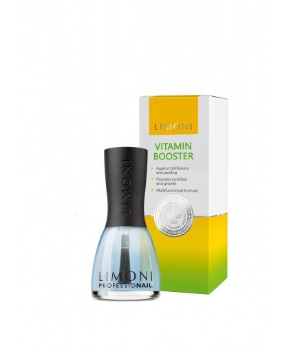 Уход за ногтями Vitamin Booster Средство для роста ногтей с витаминами 15 мл, Limoni