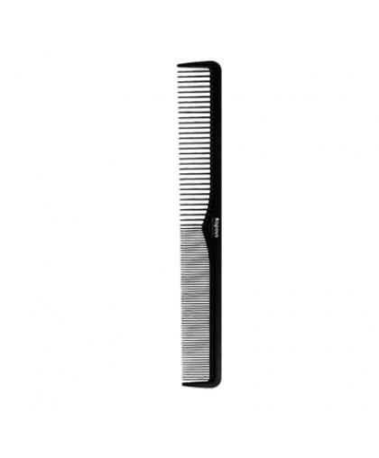 Расческа Kapous Professional парикмахерская «Carbon fiber» 181*24 мм