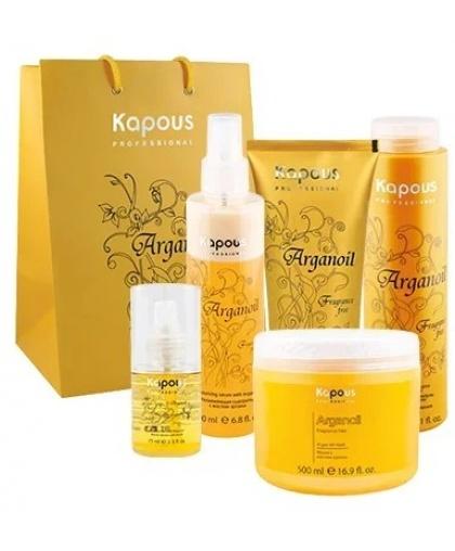 Набор для аргановой реставрации волос Kapous «Arganoil»