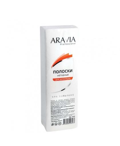 """ARAVIA Professional"" Полоски нетканые для депиляции, 76*230 мм, 90 г/м, 100 шт./уп."