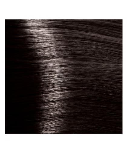 Крем-краска для волос Kapous Fragrance free с кератином «Non Ammonia» Magic Keratin NA 3.0 темно-коричневый, 100 мл