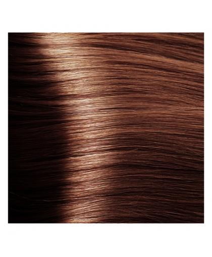 Крем-краска для волос Kapous STUDIO 6.4 темный медно-коричневый блонд с экстрактом женьшеня и рисовыми протеинами, 100 мл