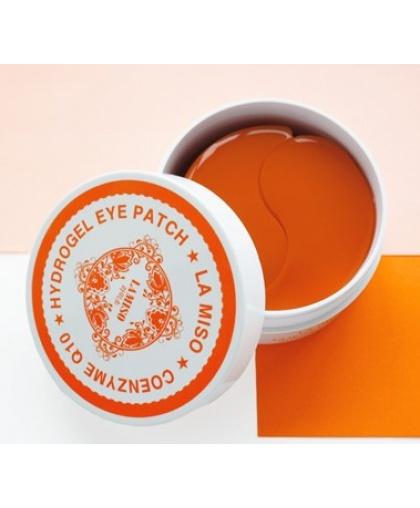 LA MISO Гидрогелевые патчи с коэнзим Q10 для кожи вокруг глаз, 60 шт