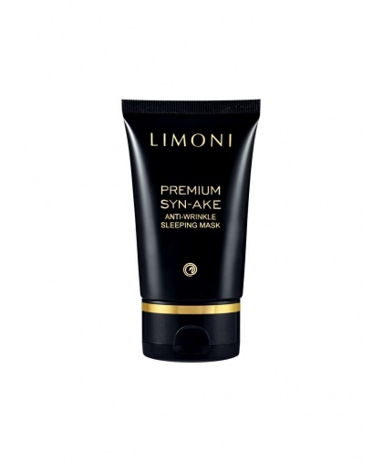 Маска Limoni Premium Syn-Ake Anti-Wrinkle Sleeping Mask Антивозрастная ночная со змеиным ядом для лица 50 мл