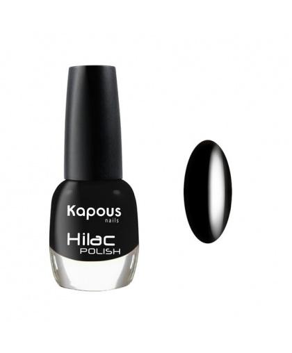 """Лак для ногтей """"Черный тюльпан """" Hilac Kapous Цвет: черный"""
