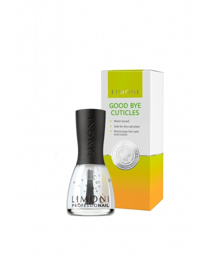 Уход за кутикулой Good bye Cuticles Средство для удаления кутикулы 15 мл, Limoni
