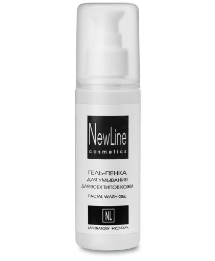 Гель-пенка New Line для умывания для всех типов кожи, 150 мл