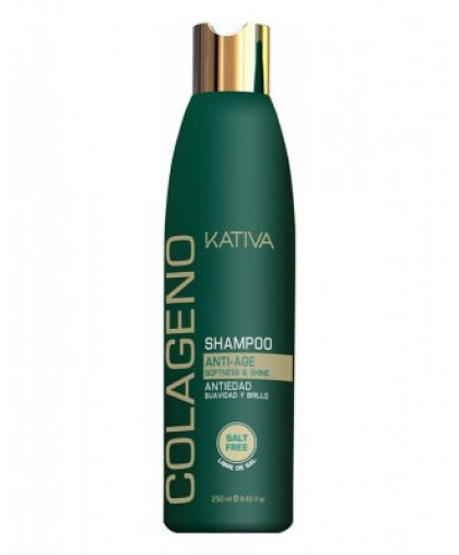 Kativa COLLAGENO Коллагеновый шампунь без солей 250мл