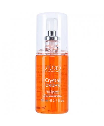 Кристальные капли для секущихся кончиков волос Kapous Studio «Crystal drops», 80 мл