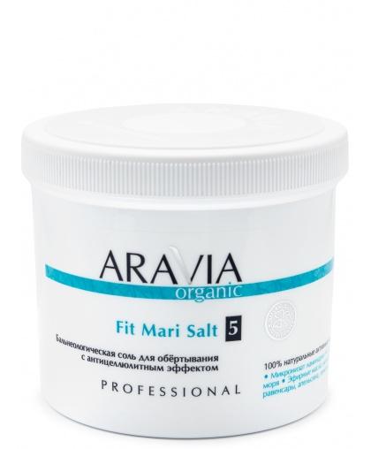ARAVIA Organic Бальнеологическая соль для обёртывания с антицеллюлитным эффектом Fit Mari Salt 730 г
