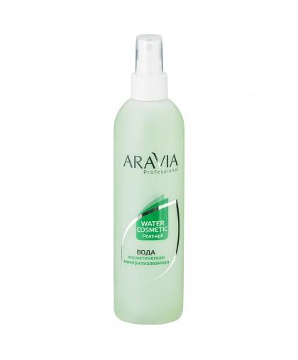"""""""ARAVIA Professional"""" Вода косметическая минерализованная с мятой и витаминами, 300 мл."""