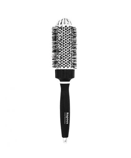 Брашинг для волос Kapous Professional керамический круглый «Premium», Ø33мм