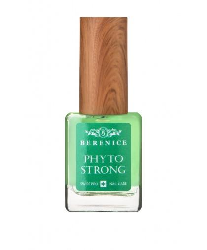 """Регенерирующее средство для ногтей """"Сила природы""""  Berenice Nail Care «Phyto Strong» 15 мл,  Limoni"""