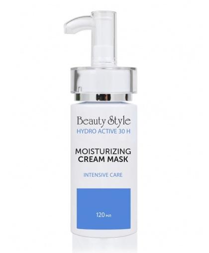 Увлажняющая крем-маска Beauty Style Hyaluron - hydro active с аминокислотами, 120мл